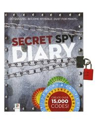 Secret Spy Diary (Lock & Key), na