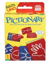 Pictionary Card Game, Age 8+