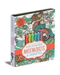 Kaleidoscope Coloring Mermaids & Seahorses, na