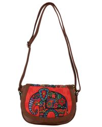 Sling Bags: S01-30R, sunset red