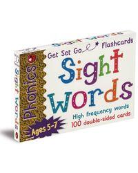 Phonics Get Set Go Flashcards Sight Words, multi