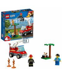 Lego City Barbecue Burn Out Building Blocks, Age 4+