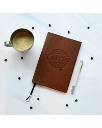 The Perfect Brew Notebook, brown
