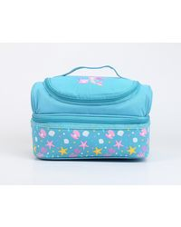 Dreamland Double Decker Lunch Bags (Light Blue)