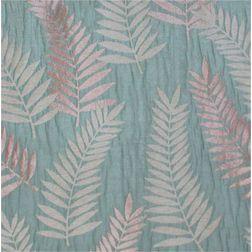 Sonalika Floral Curtain Fabric - 9, blue, sample