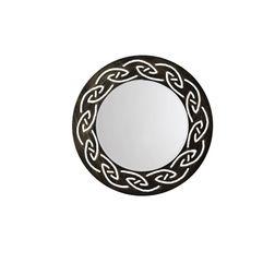Aasra Decor Tribal Mirror Decor Wall Mirror, multicolor