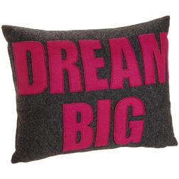 Dream Big Cushion Cover MYC-72, pack of 1, grey