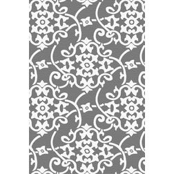 Floor Carpet and Rugs Hand Tufted, AC Concept Abstract Grey Carpets Online - ACR (16) -L, 3ftx5ft, grey