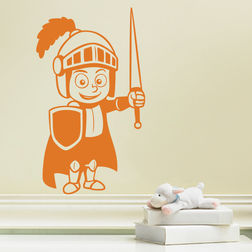 Kakshyaachitra Little Soldier Ready To Fight Kids Wall Stickers, 24 41 inches