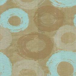 Passion Geometric Curtain Fabric - 20, brown, fabric