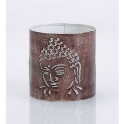 Aasra Decor Budha Candle Votive DecorVotives, multicolour