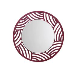 Aasra Decor Woolemi Mirror Decor Wall Mirror, pink