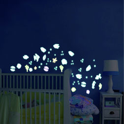Wall Sticker For Kids Home Decor Line Fishes - 77228