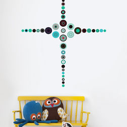 Wall Stickers For Kids Design Circle Patterns WD006