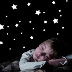 Wall Stickers For Kids Home Decor Line Stars - 77223