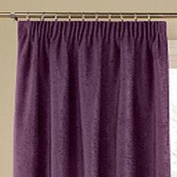 Softy Solid Readymade Curtain - SJ815, door, purple