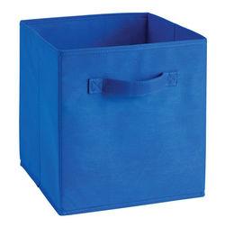 Storage Cube Box,  royal blue