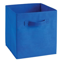 Storage Cube Box,  royal blue