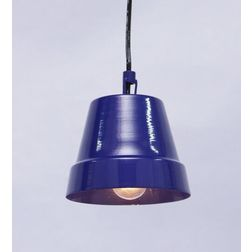 Aasra Decor Blue Tumbler Pendant Lamp Lighting Ceiling, blue