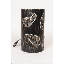 Aasra Decor Leaf Lamp Lighting Table Lamp, gold