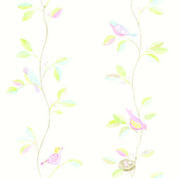 Elementto Wall papers Floral Design Home Wallpaper For Walls, white, gs 60109 white