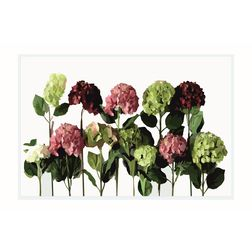 Dreamscape Floral Multicolour Table Mat Set - 6-Pieces, green, 21.5 in