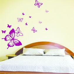Children Wall Stickers Design Butterfly Away WDV06016