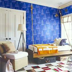 Elementto Wall papers Kids Design Home Wallpaper For Walls, dark blue