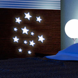 Wall Sticker For Kids Home Decor Line Stars - 59506