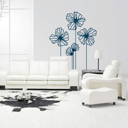 Wall Stickers WallDesign Floral Zeal