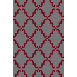 Floor Carpet and Rugs Hand Tufted, AC Concept Ethnic Grey Carpets Online - ACR (2) -L, 3ftx5ft, grey