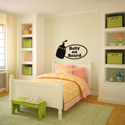Kakshyaachitra Baby food on Board Kids Wall Stickers, 48 28 inches