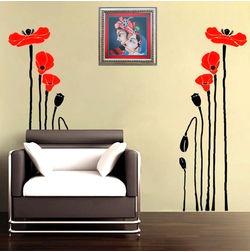 KakshyaaChitra Tulip Flower Wall Decal