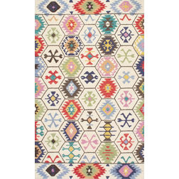 Floor Carpet and Rugs Hand Tufted, The Rug Concept Multi Carpets Online Tbilisi 6022-M, multi, 3ft x 5ft