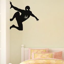 Kakshyaachitra Spider For Bedroom And Living Room Wall Stickers, 48 48 inches