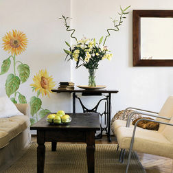 Wall Decals Home Decor Line Sunflower - 57102