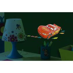 Kids Wall Sticker Decofun Cars 3D Glow Decor - 70463
