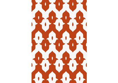 Floor Carpet and Rugs Hand Tufted, AC Concept Ethnic Red Carpets Online - ACR (4) -L, 3ftx5ft, red