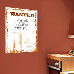 Wall Stickers Home Decor Line Wanted - 43401
