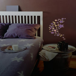 Kids Wall Stickers Home Decor Line Coloured Stars - 41100