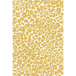 Floor Carpet and Rugs Hand Tufted, AC Concept Abstract Yellow Carpets Online - ACR 32-L, yellow, 3ftx5ft
