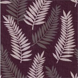 Sonalika Floral Curtain Fabric - 13, purple, sample