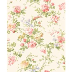 Elementto Wallpapers Floral Design Home Wallpaper For Walls, light pink