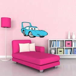 Kakshyaachitra SheepDog car Kids Wall Stickers, 24 14 inches