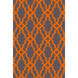 Floor Carpet and Rugs Hand Tufted, AC Concept Geometric Grey Carpets Online - ACR (27) -L, 3ftx5ft, grey