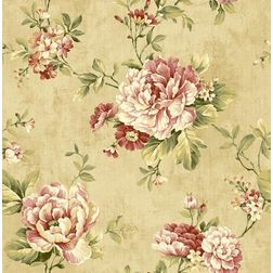 Elementto Wallpapers Floral Design Home Wallpaper For Walls, brown
