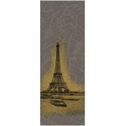 Elementto Mural Wallpapers Eiffel Mural Design Wall Murals 22150843_ 1429537974_ 1110mural, dark brown