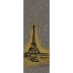 Elementto Mural Wallpapers Eiffel Mural Design Wall Murals 22150843_ 1429537974_ 1110mural, dark brown