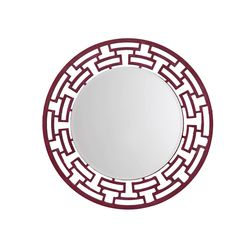 Aasra Decor ChainLink Mirror Decor Wall Mirror, pink