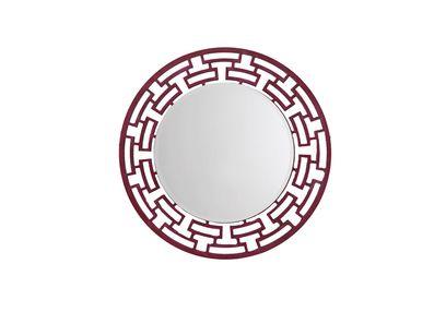 Aasra Decor ChainLink Mirror Decor Wall Mirror, pink
